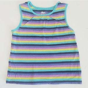 Circo 5T striped tank top